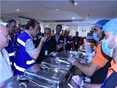 الصحة تعلن نتائج حملة مفاجئة على فندق لإقامة الحجاج المصريين