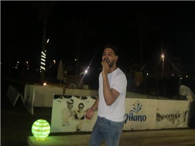 محمد شاهين خلال الحفل