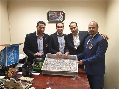 يقظة جمارك مطار شرم الشيخ أحبطت تهريب 1300 قرص مخدر ليلة العيد