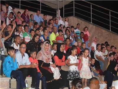 حفلات فنية وثقافية علي مسرح ممشي النصر إحتفالا بعيد الاضحي المبارك