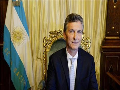 الرئيس الأرجنتيني ماوريسيو ماكري