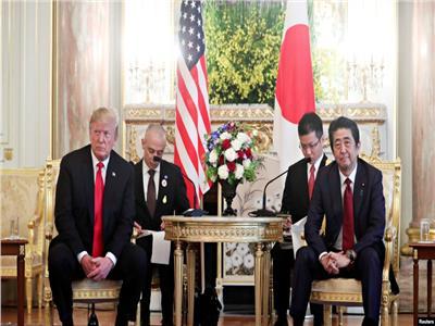 شينزو آبي ودونالد ترامب