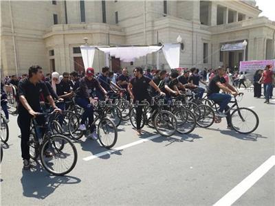 دراجات العام الدراسي الجديد الجامعات