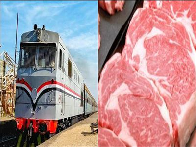 في عربات «مبردة».. ننشر أسعار نقل لحوم «الأضاحي» عبر قطارات السكة الحديد