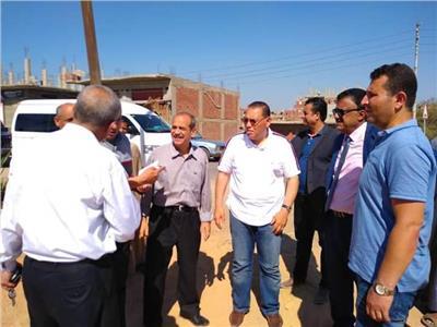 إزالة التعديات على 2500 متر أراضي زراعية بالشرقية رابع أيام العيد