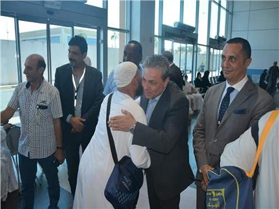 المهندس أحمد فوزى رئيس مجلس إدارة شركة ميناء القاهرة الجوى