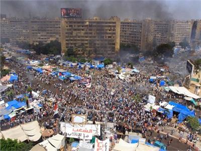 اعتصام رابعة الإرهابي