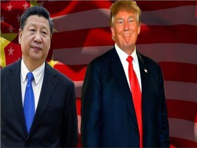 """صورة تعبيرية """"الرئيس الأمريكي دونالد ترامب والرئيس الصيني شي جين بينغ"""""""