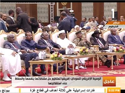 توقيع اتفاق المرحلة الانتقالية بين المجلس العسكري السوداني وحركة احتجاج