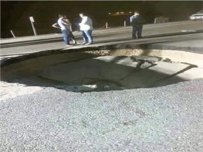 صورة سقوط نيزك بين قسنطينة و عين مليلة بالجزائر