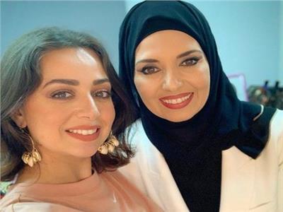 هبة مجدي والفنانة المعتزلة جيهان نصر