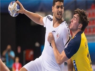 اللاعب أحمد هشام نجم منتخب كرة اليد للناشئين