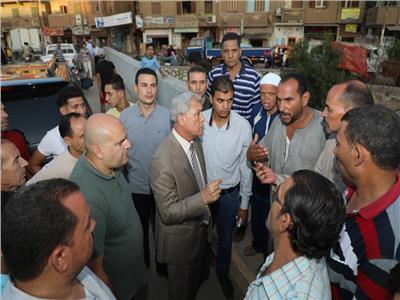 اللواء سعيد عباس محافظ المنوفية