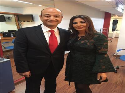 عمرو أديب وأليسا