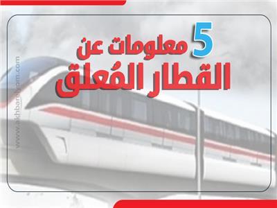 إنفوجراف | 5 معلومات عن «القطار المُعلق»