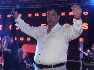 عبد الباسط حمودة خلال الحفل