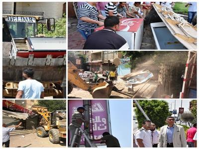 حملة جهاز القاهرة الجديدة لإزالة التعديات