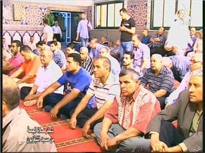 شعائر صلاة الجمعة من مسجد التليفزيون بالقاهرة