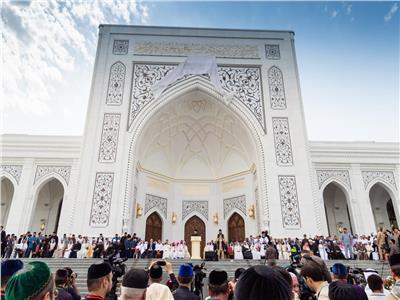 افتتاح أكبر مسجد