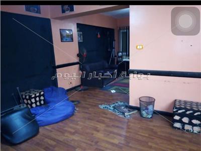 مقر مشروع «مسرح شو» بعد تعرضه للسرقة