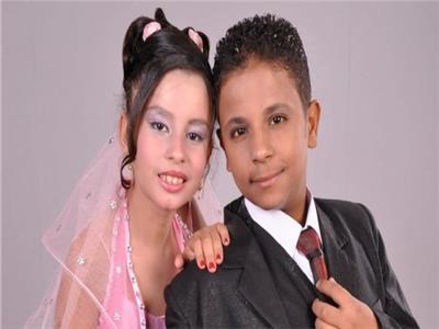 أصغر عروس في مصر
