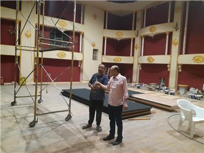 محمد صبحييؤسس مسرحا جديدا بمدينة سنبل