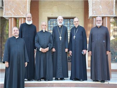 أساقفةالكاثوليكية يهنئون الأنبا باسيليوس بمناسبة تجليسة مطراناً لسوهاج