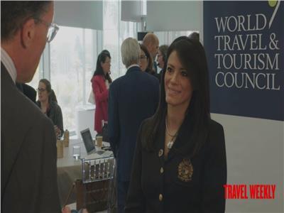وزيرة السياحة خلال اللقاء