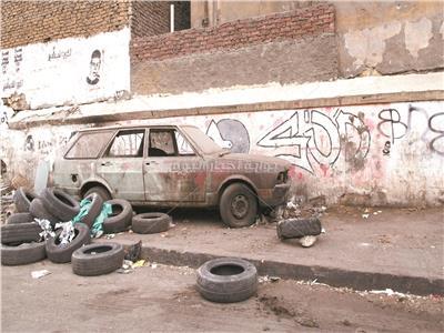 السيارات الخردة قنبلة موقوتة في شوارع مصر - تصوير علاء محمد علي