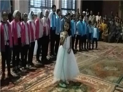 كورال أطفال ثقافة المنيا