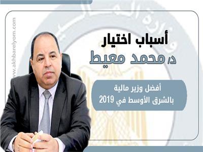 إنفوجراف| أسباب اختيار الدكتور محمد معيط  أفضل وزير مالية بالشرق الأوسط