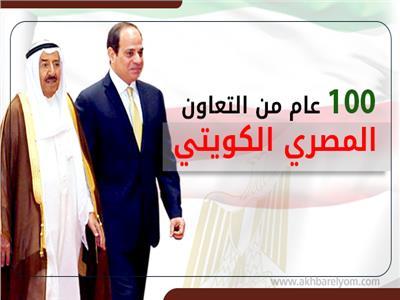 100 عام من التعاون المصري الكويتي