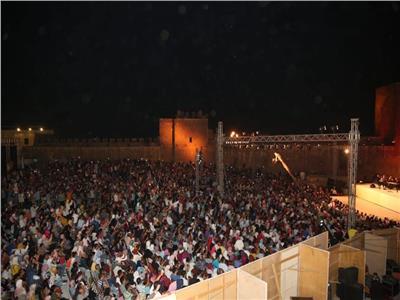 جمهور مهرجان القلعة خلال حفل الختام