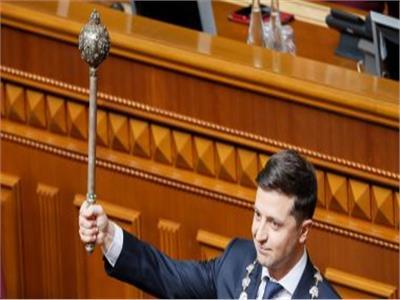 رئيس اوكرانيا فى البرلمان ارشيفية