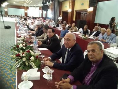 اللقاء الذي نظمته الهيئة القبطية الإنجيلية بالإسكندرية