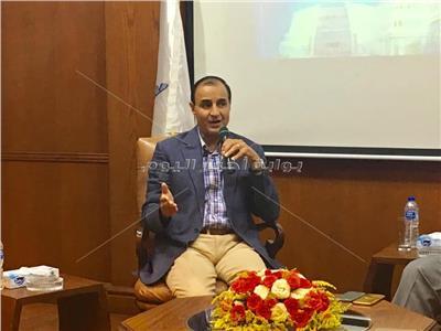 الكاتب الصحفي محمد البهنساوي، رئيس تحرير بوابة أخبار اليوم