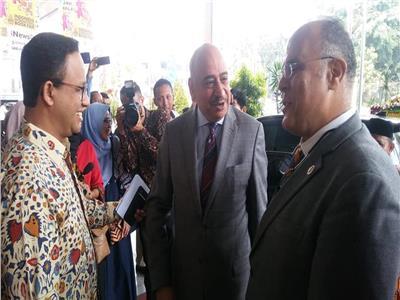 افتتاح الجناح المصري في معرض إندونيسيا الدولي للكتاب