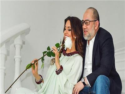 أوكسانا فويفودينا وزوجها السابق محمد الخامس