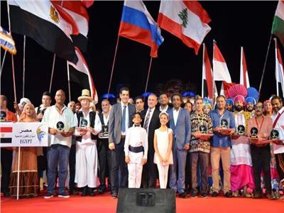 رئيس قصور الثقافة يشهد ختام مهرجان الإسماعيلية الدولي للفنون الشعبية