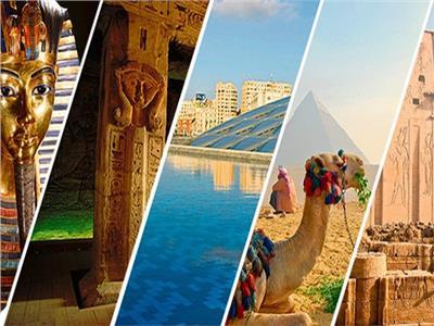 صورة للمزارات السياحية المصرية