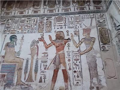 ترميم معبد «خنسو»