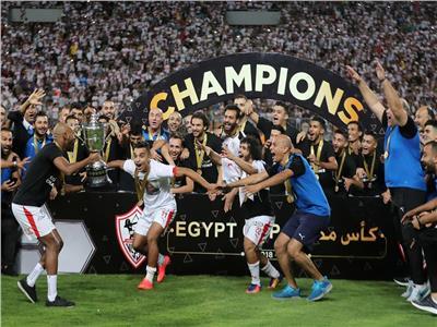 بالفيديو والصور| مراسم فرحة وتتويج لاعبي الزمالك بكأس مصر | بوابة أخبار اليوم الإلكترونية