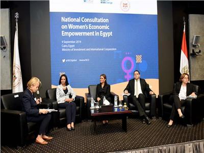 سحر نصر مصر أنجزت تشريعات هامة لدعم المرأة