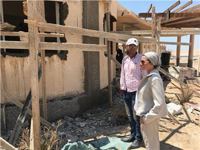 وزيرة البيئة تتفقد المرحلة الثانية لأعمال تطوير محمية رأس محمد