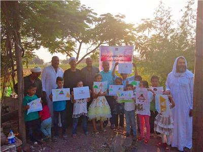 شهادات تقدير ولوحات للأطفال هدايا عيد الفلاح بثقافة الشرقية