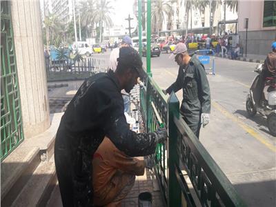 إصلاح وتجميل ودهان يوم في حب ميناء الإسكندرية