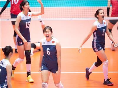 منتخب ناشئات الصين يتأهل لربع نهائي بطولة العالم للكرة الطائرة