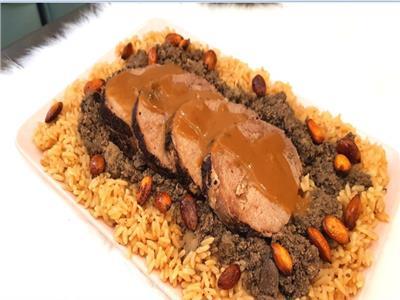 أرز بالخلطة وعرق بالصوص