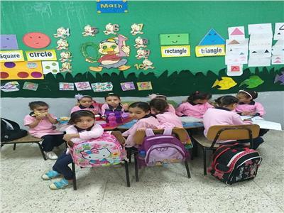 مدارس القاهرة الجديدة تحتفل بالطلاب في أول يوم دراسي