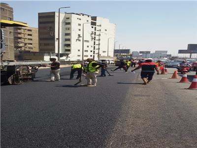 كثافات متحركة على الطريق الدائري لوجود أعمال صيانة
